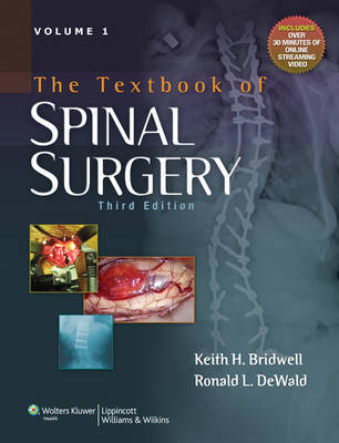 The Textbook of Spinal Surgery image