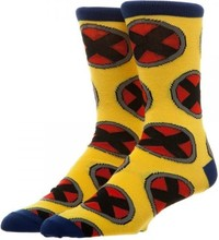 Marvel: X-Men All Over Print - Crew Socks