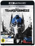 Transformers on UHD Blu-ray