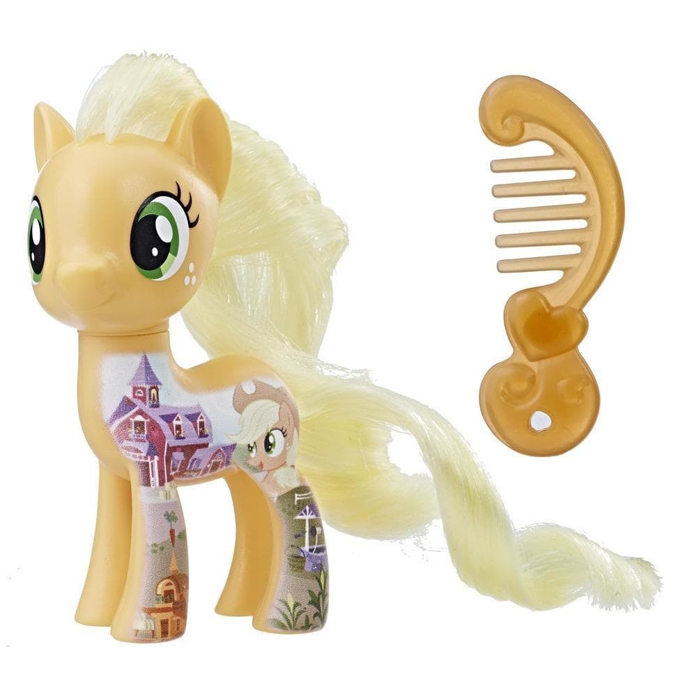 "My Little Pony: Pony Friends - All About Applejack 3"" Mini-Figure image"