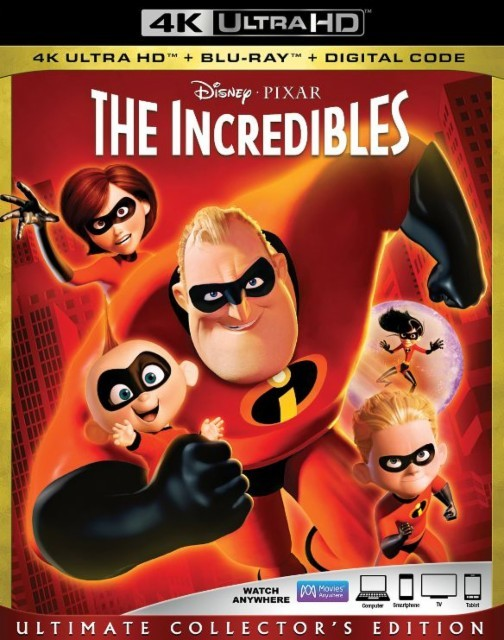 The Incredibles on UHD Blu-ray
