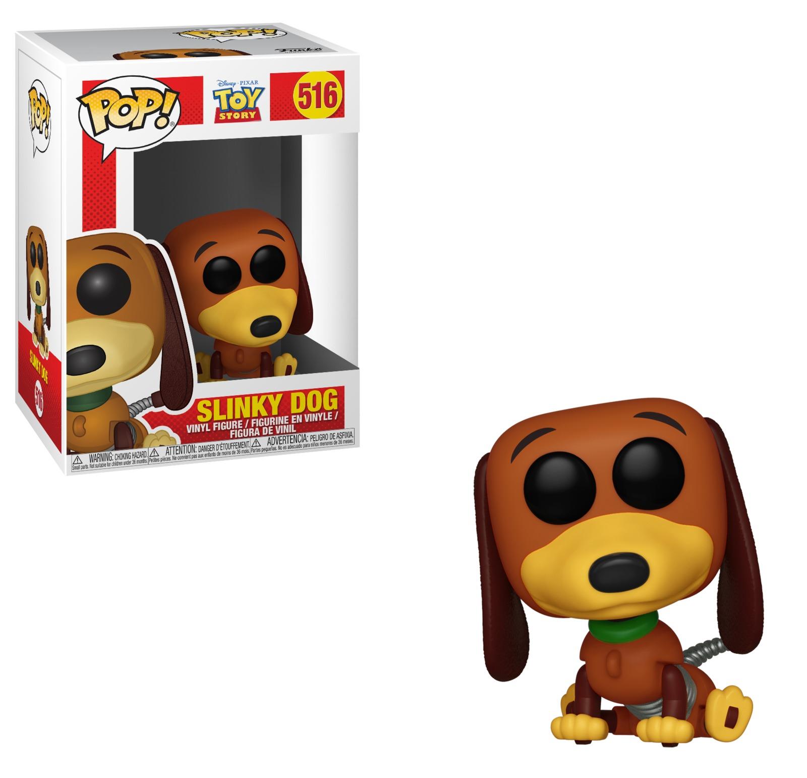 Toy Story - Slinky Dog Pop! Vinyl Figure image