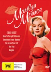 Marilyn Monroe Box Set (5 disc) on DVD