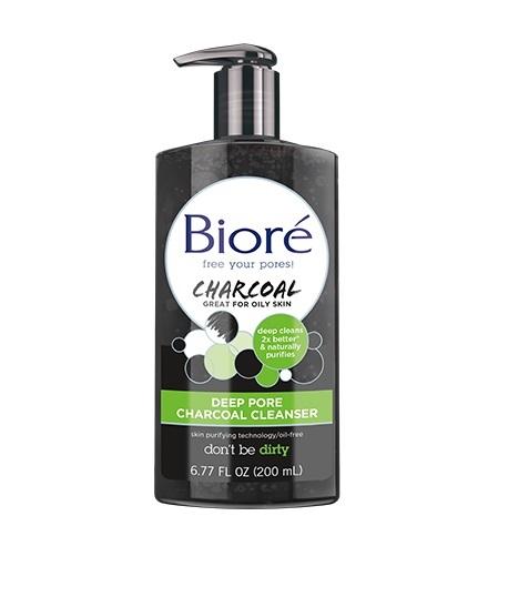 Biore: Deep Pore Charcoal Cleanser (200ml) image