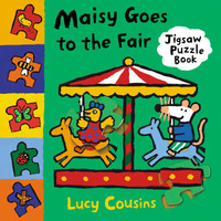 Maisy Goes to the Fair Jigsaw Book by Lucy Cousins image