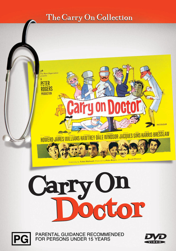 Carry On Doctor on DVD