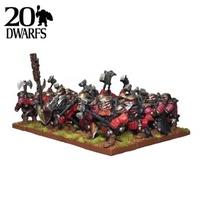 Kings of War Dwarf Shieldbreaker Regiment