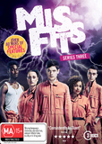 Misfits - Series Three on DVD