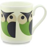 Orla Kiely Mug - Owl Green