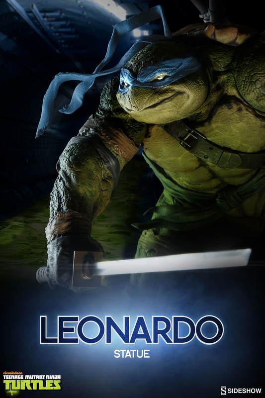 """TMNT: Leonardo - 14.5"""" Statue"""