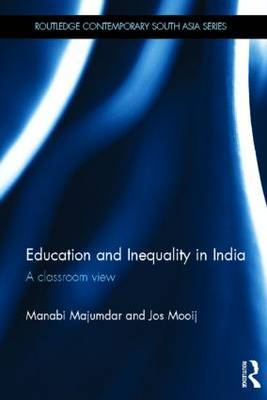 Education and Inequality in India by Manabi Majumdar image