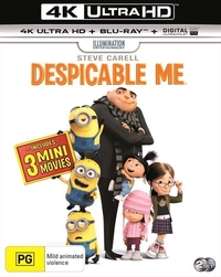 Despicable Me on Blu-ray, UHD Blu-ray