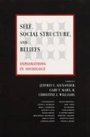 Self, Social Structure, and Beliefs image