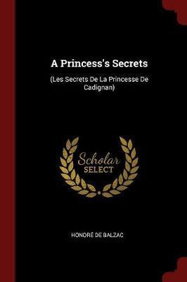 A Princess's Secrets by Honore de Balzac image