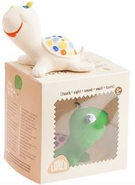 Lanco: Turtle / Tortuga Blanc Bath Toy