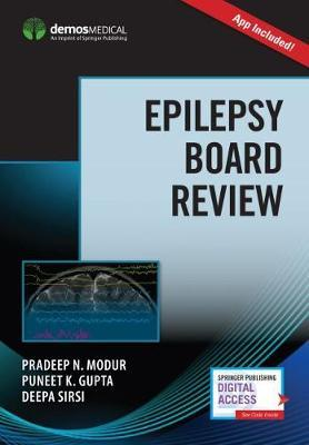 Epilepsy Board Review with App by Pradeep N. Modur