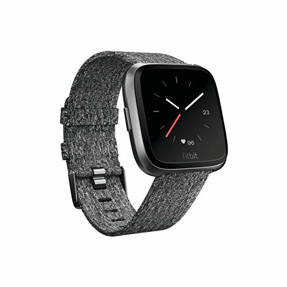 Fitbit Versa Special Edition Smartwatch Charcoal