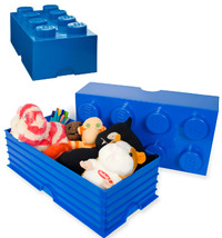 LEGO: Storage Brick 8 - Dark Blue