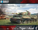 Rubicon 1/56 Tiger I Ausf E