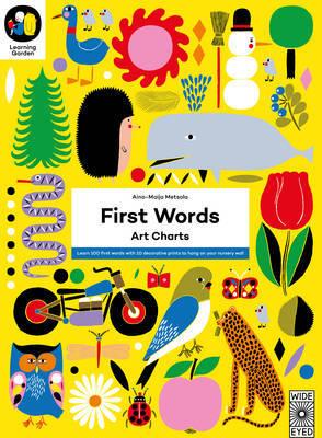 First Words: Art Charts by Aino-Maija Metsola image