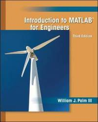 Introduction to MATLAB for Engineers by William J. Palm image