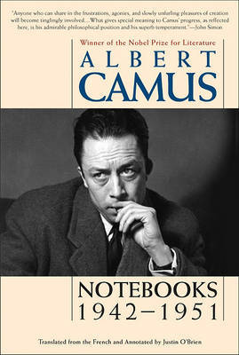 Notebooks, 1942-1951 by Albert Camus