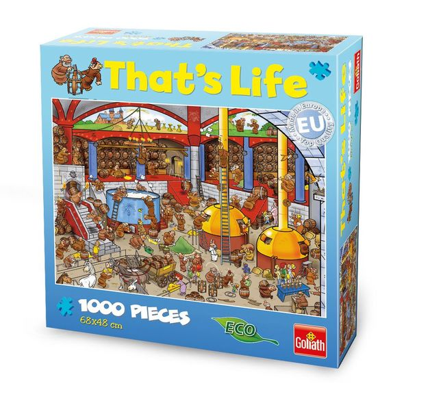 That's Life 1,000 Piece Jigsaw (Brewery)