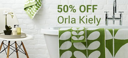 50% OFF Orla Kiely Homewares!