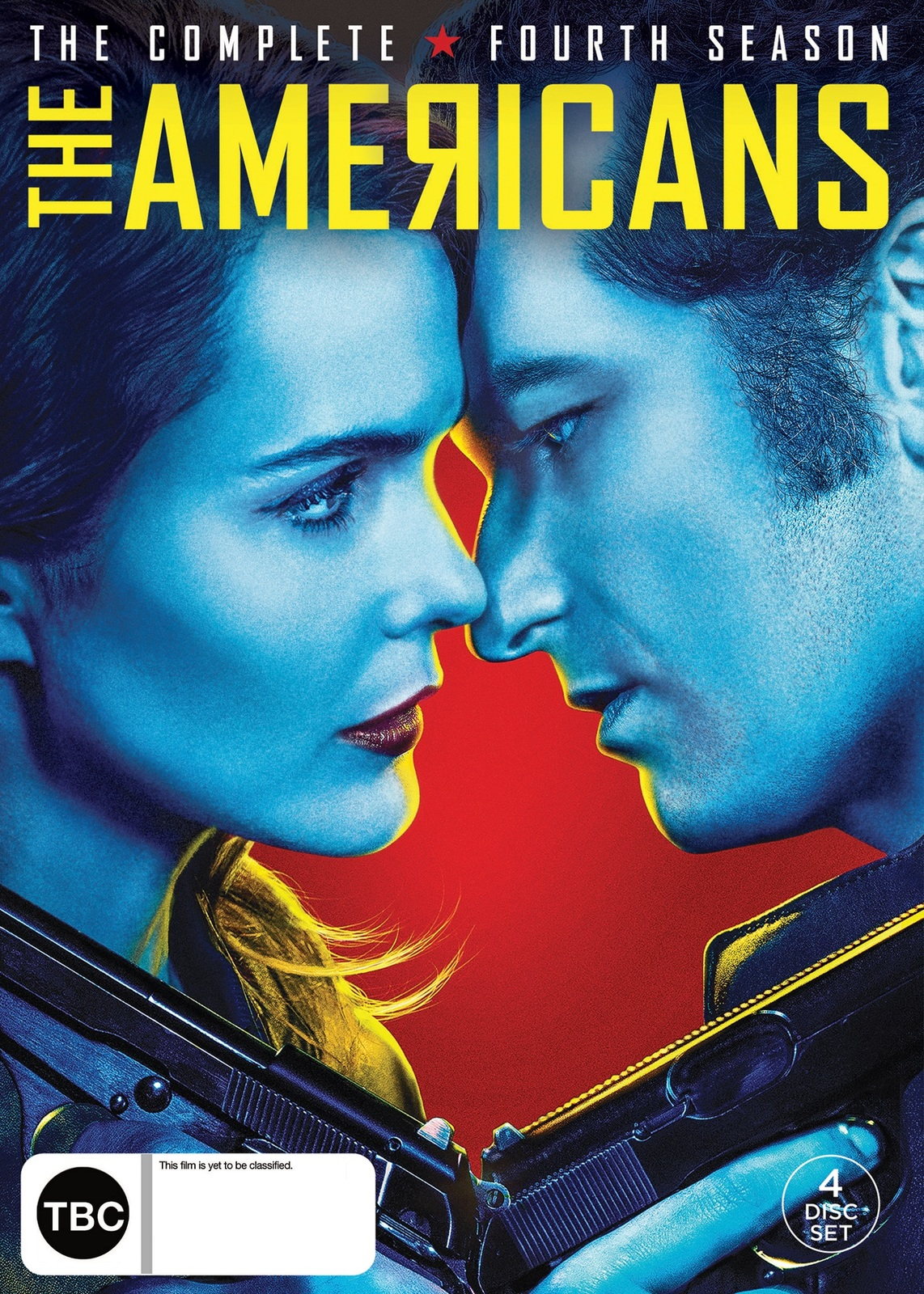 The Americans - The Complete Fourth Season on DVD image