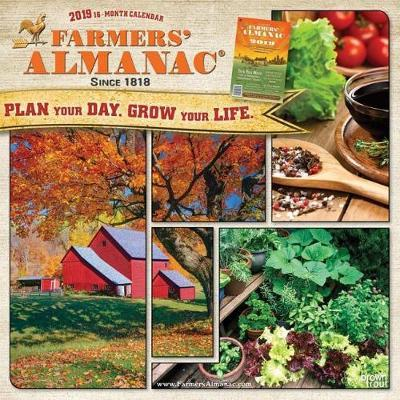 Farmers' Almanac 2019 Square by Inc Browntrout Publishers