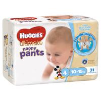 Huggies Ultimate Nappy Pants Bulk - Toddler Boy 10-15kgs (31)