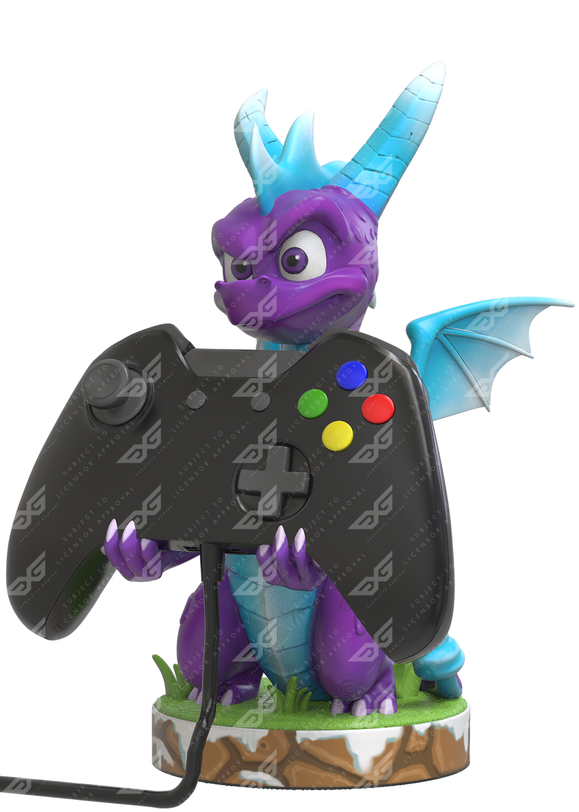Cable Guy Controller Holder - Spyro Ice for PS4 image