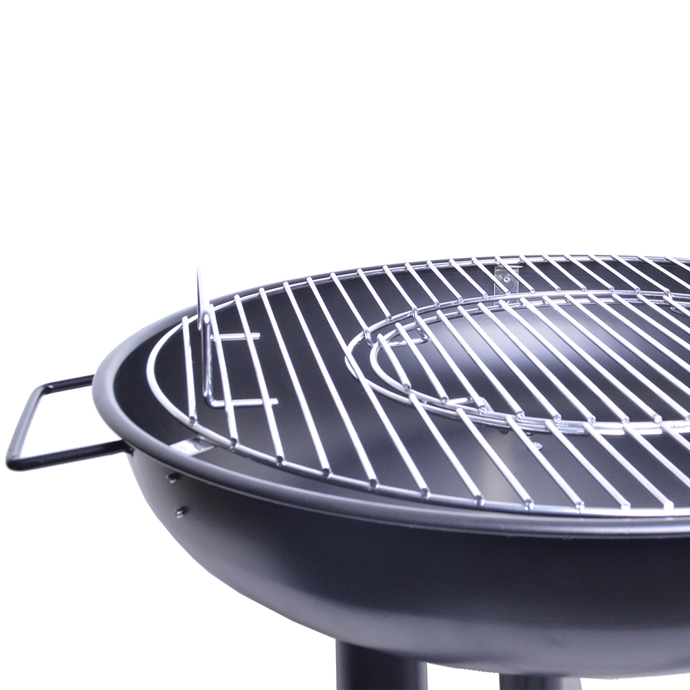 """21"""" 2-in-1 Round Firebowl Charcoal BBQ & Fire Pit image"""