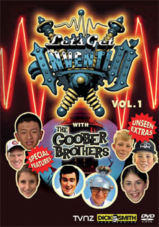 Let's Get Inventin' Volume 1 on DVD image