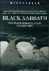 Black Sabbath - Black Sabbath Story Vol 1 on DVD