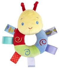 Taggies - Cozy Rattle Pal (Caterpillar)