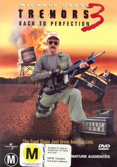 Tremors 3 - Back To Perfection on DVD