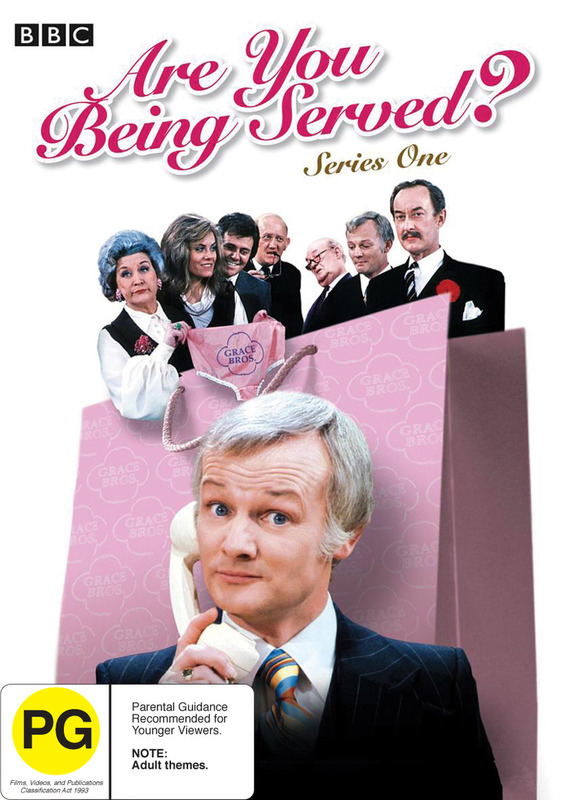 Are You Being Served? - Series 1 on DVD