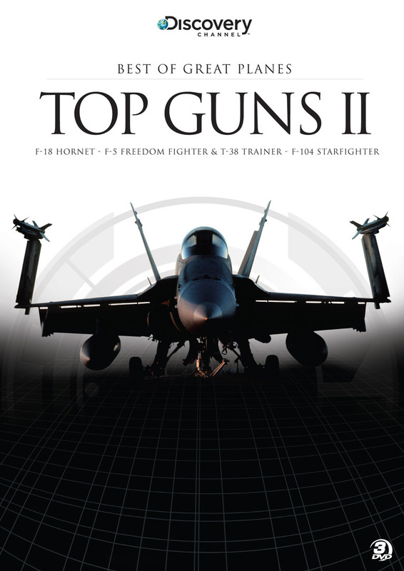 Best of Great Planes: Top Guns II (3 Disc Set) on DVD