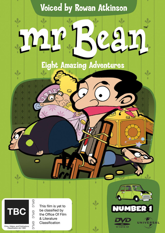 Mr. Bean - Number 1 (Animated) on DVD
