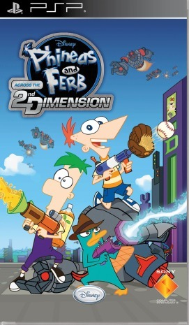Phineas and Ferb: Across the Second Dimension for PSP