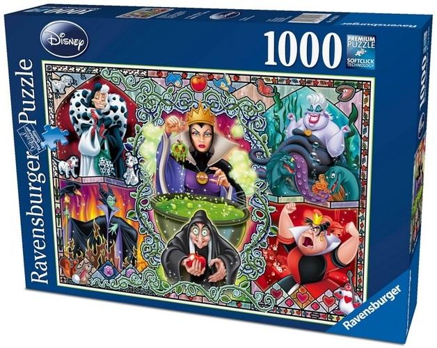 Ravensburger 1000 Piece JIgsaw Puzzle - Disney Wicked Women