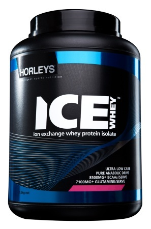 Horleys ICE Whey Protein Isolate - Strawberry Frost (1.3kg) image