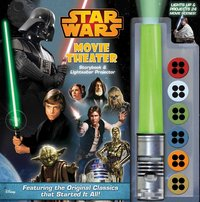 Star Wars Movie Theater Storybook & Lightsaber Projector by Benjamin Harper