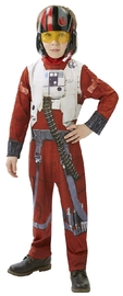 Star Wars: Kids X-Wing Pilot Poe Classic Costume - Large
