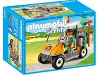 Playmobil: Zoo Theme - Zookeeper's Cart (6636)