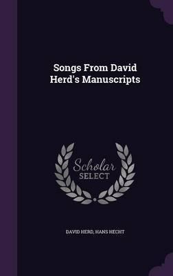 Songs from David Herd's Manuscripts by David Herd