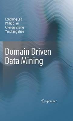 Domain Driven Data Mining by Longbing Cao