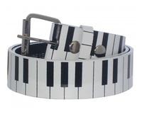 Piano Key Fashion Belt