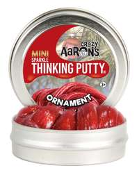 Crazy Aaron's Thinking Putty: Christmas Mini Tin Putty - Ornament
